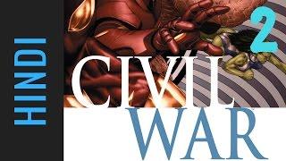 Marvel CIVIL WAR | Episode 02 | Marvel Comics in Hindi