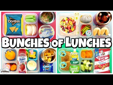 HOT LUNCHES Party Food 🍎 Lunch Ideas for KIDS