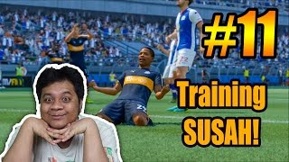 FIFA 17 The Journey (11) Training Paling NGESELIN!! XD