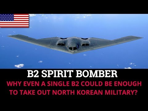 Xxx Mp4 WHY EVEN A SINGLE B2 COULD BE ENOUGH TO TAKE OUT NORTH KOREAN MILITARY 3gp Sex