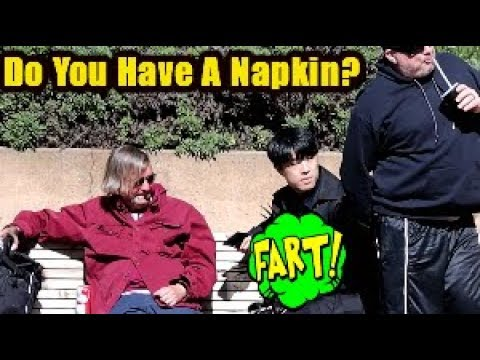 Funny Wet Fart Prank With The Sharter Gonna Need A Napkin
