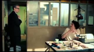 Lix Storm(Anna Chancellor) and Randall Brown(Peter Capaldi), The Hour
