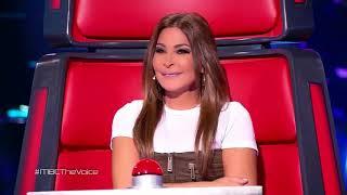 ذا فويس - نادية شيبوب - أهوى - مرحلة الصوت وبس - احلي صوت The Voice