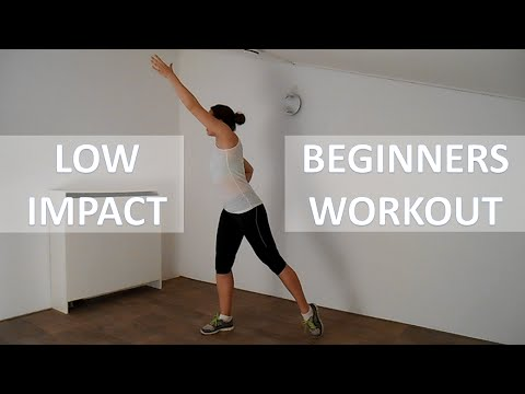 20 Minute Low Impact Workout For Beginners – Fat Burning Beginners Workout Routine