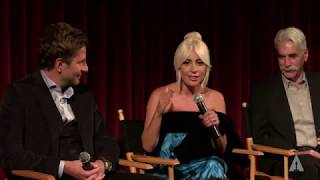 "Lady Gaga, Bradley Cooper, Sam Elliott - Academy conversation ""A star is born"""