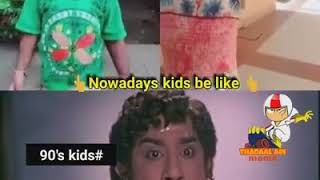 Fun with 20's vs 90's kids