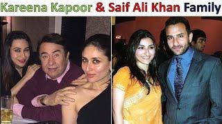 Kareena Kapoor And Saif Ali Khan with Family 2017 😐