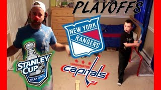 NHL PLAYOFFS - EASTERN CONFERENCE FINAL - RANGERS / CAPITALS - BEST OF 3 - QUINNBOYSTV