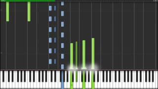 Philip Glass - Metamorphosis 4 - Synthesia Tutorial