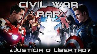 Capitan America: Civil War II RAP II ¿Justicia o Libertad? II By: JL