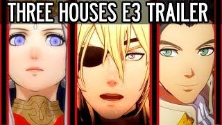 Fire Emblem: Three Houses Nintendo E3 Trailer Full Breakdown, Analysis and Theory.