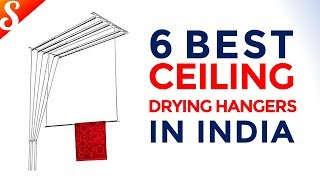 6 Best Ceiling Drying Hangers in India with Price | Monsoon Special