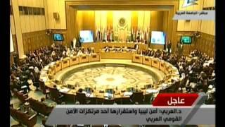 كلمة د .نبيل العربى أمين عام جامعة الدول العربية 28-5-2016