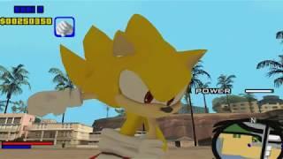 GTA SA Sonic the Hedgehog mod (NEW)