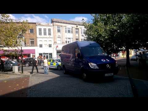 G4S Van alarm alerts police In Taunton Somerset