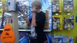 Thrown out of Walmart Intercom Pranks