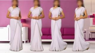 saree Draping Bollywood style-2
