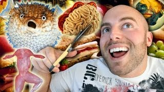 The 10 CRAZIEST FOODS in the WORLD!