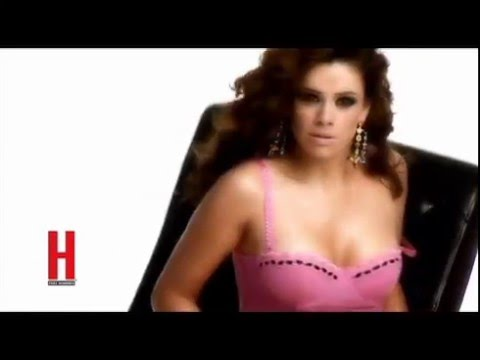 Luz Elena González posa sexy para Revista H para hombres