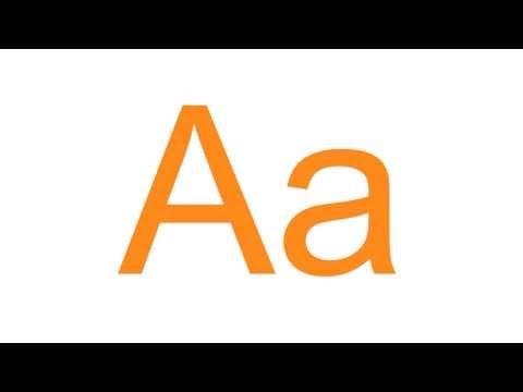 Türkçe Alfabesi Alfabeto Turco Turkish Alphabet