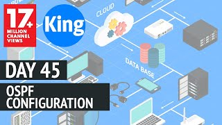 Free CCNA | OSPF Configuration - Day 45 | 200-125 | Free Cisco Video