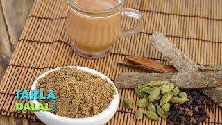 Chai ka Masala / Chai Powder, Indian Tea Masala Powder Recipe by Tarla Dalal