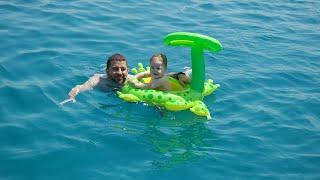 VLOG #5 | İlk Yüzme Deneyimi, Tekne, Çeşme, Urla | Merve