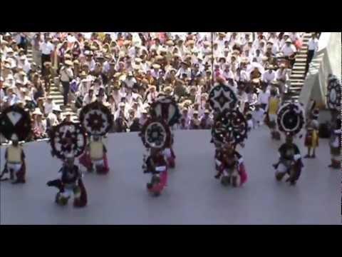 Guelaguetza 2012 Danza de la Pluma San Jeronimo Tlacochahuaya