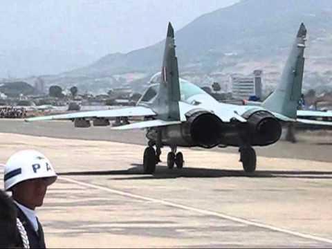 MiG 29 PERU FESTIVAL AEREO LAS PALMAS 2010 FULL SOUND