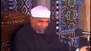 التوسل بالنبي الاعظم بين الشيخ متولي الشعراوي والالباني ( الوهابي )