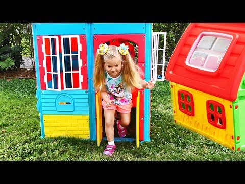 Xxx Mp4 Roma And Diana Pretend Play With Playhouse For Kids 3gp Sex