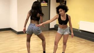 A.T Afro Dance - Dance rehearsal session [May D - Ile Ijo & Mr. Vegas - Party Tun Up]