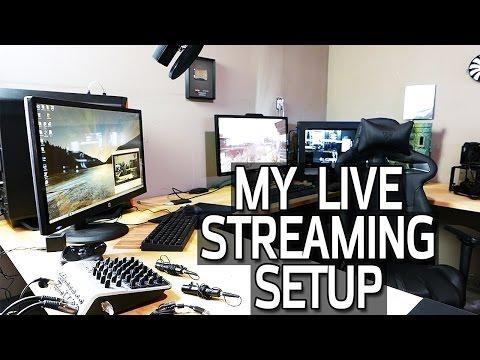 Live Stream Setup Tour Cameras Audio & Hardware