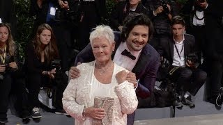 Stephen Frears, Judi Dench and more on the red carpet for the Premiere of Victoria and Abdul