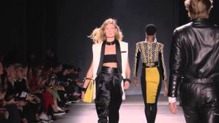 Balmain x H&M Fashion event  NYC