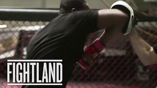 Elbows with Jon Jones: Fight School
