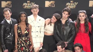 Cast of 13 Reasons Why @ MTV Movie and TV Awards