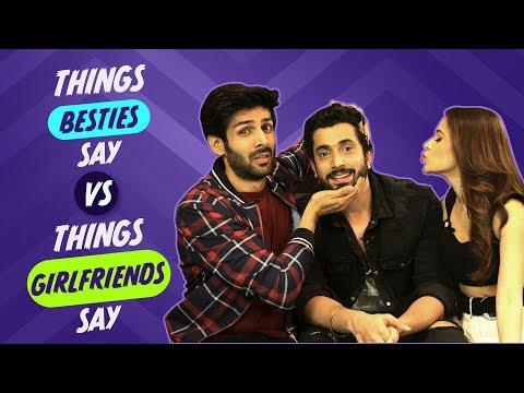 Xxx Mp4 Things Besties Say Vs Things Girlfriends Say Sonu Ke Titu Ki Sweety Pinkvilla Bollywood 3gp Sex