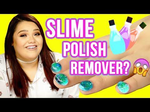 DIY SLIME Nail Polish Remover?! Makeup Mythbusters w/ Karina Garcia & MayraTouchOfGlam