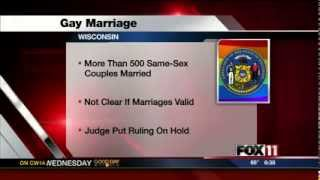 Gwen Writes in With Wisconsin Colleagues to Support Same-Sex Marriage