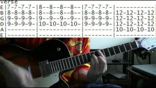 guitar lesson the Clash london calling tab