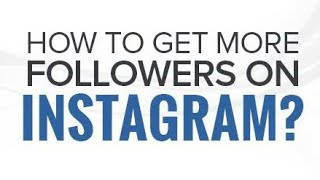 How to Get INSTAGRAM FOLLOWERS for FREE 2019 | Without LOGIN