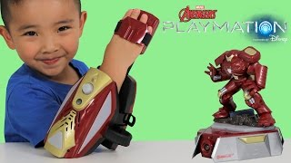 Disney Playmation Marvel Avengers Iron Man Repulsor Pack With Hulkbuster Ckn Toys