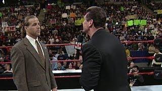 Mr. McMahon fires Shawn Michaels