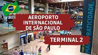 TERMINAL 2 - AEROPORTO INTERNACIONAL DE SÃO PAULO, BRASIL