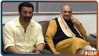 Sunny Deol बन सकते हैं Punjab से BJP के उमीदवार, Amit Shah से हुई मुलाकात
