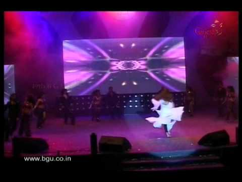 Sushant & Ankita performing at 49th Bengaluru Ganesh Utsava