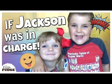 Can t say NO to Jackson IF KIDS WERE IN CHARGE