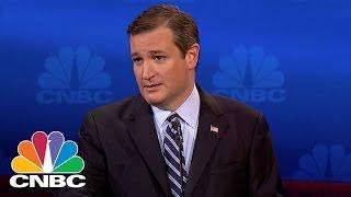 Ted Cruz: We Need To Audit The Fed | GOP Debate | CNBC