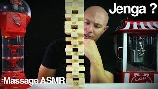 ASMR Playing Jenga